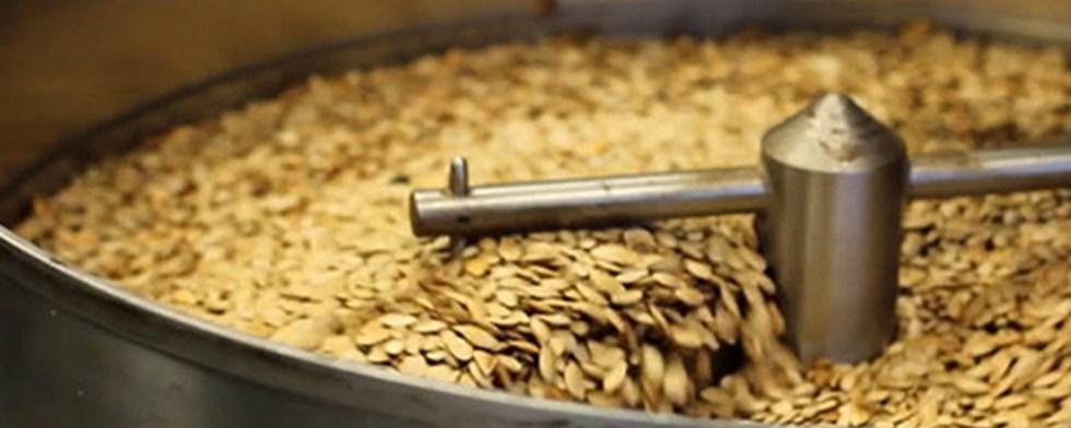 Seed roasting