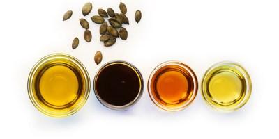 Buy pumpkin seed oil, squash seed oil, US grown sunflower seed oil