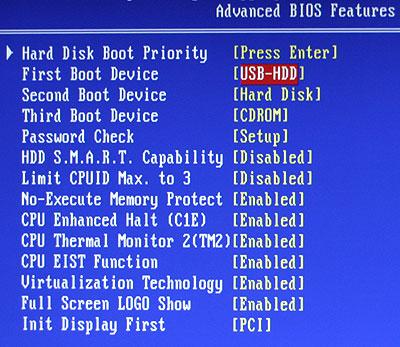 Bios & Boot