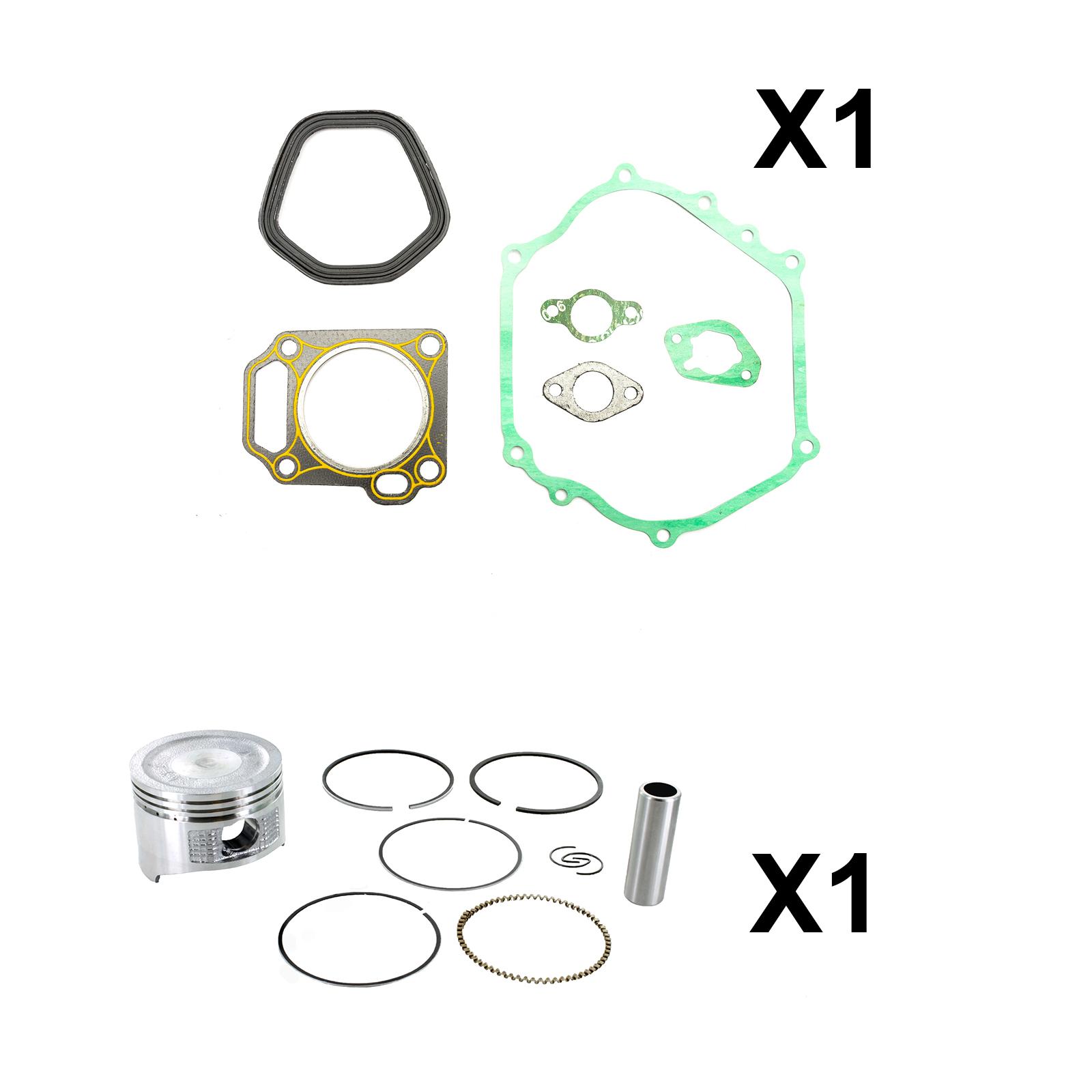 Non Genuine Piston Kit Complete Gasket Set Fits Honda