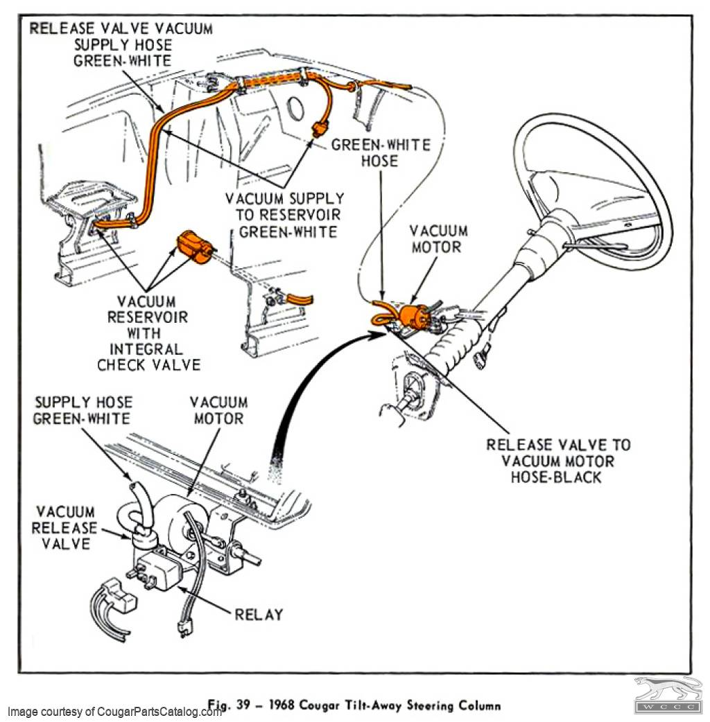 72 Mustang Steering Column Wiring Diagram