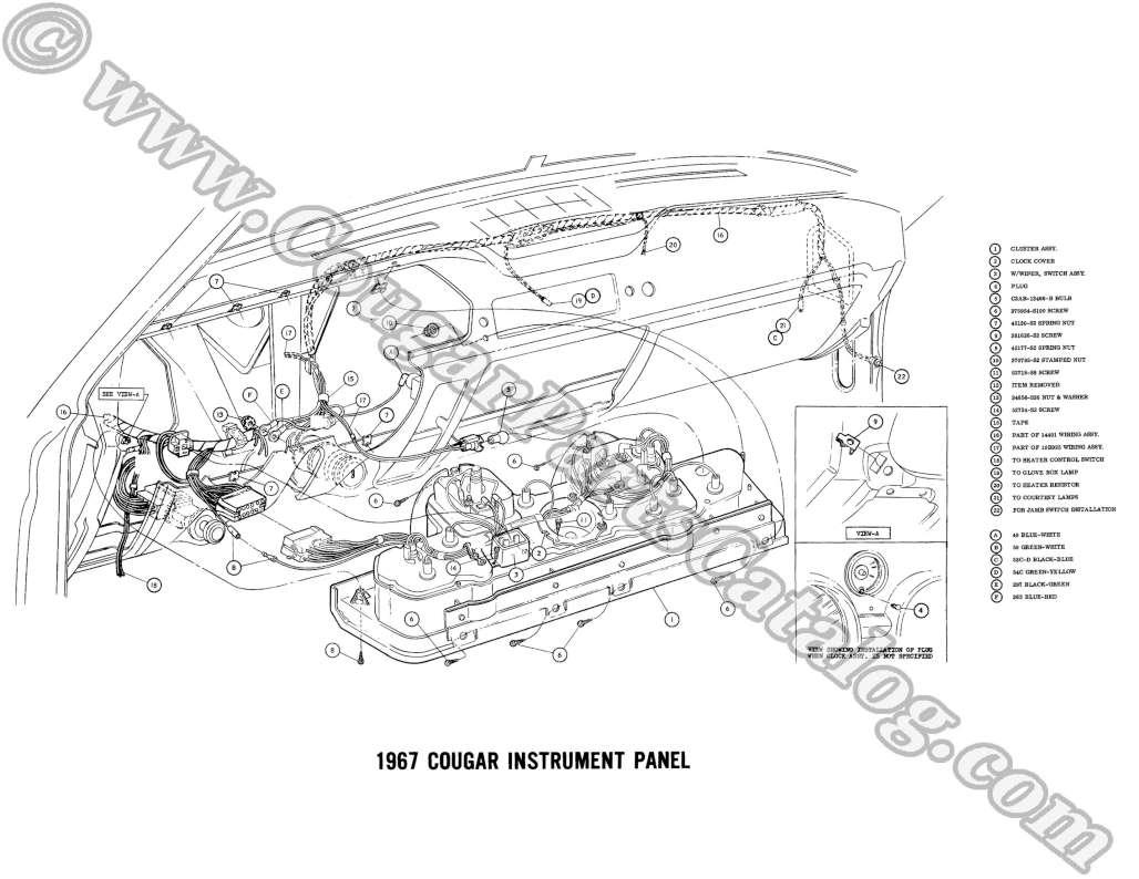 68 Cougar Fuse Box Diagram