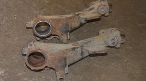 Восстановление рычагов задней балки Peugeot 206