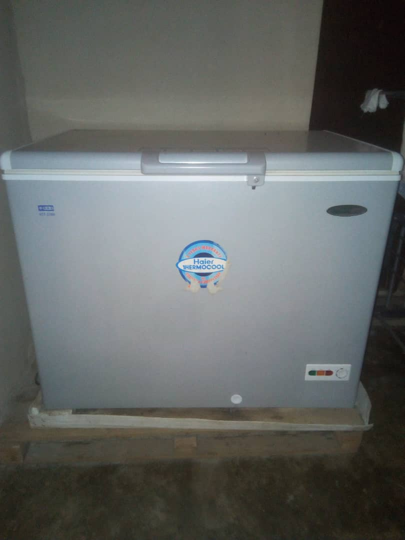 Used haier thermocool chest freezer for sale