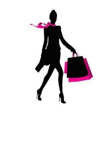 WHC Holiday Boutique Shopping Woman