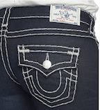 True Religion Jeans close-up