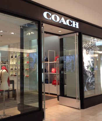 Old Coach store at Westfield Montgomery Mall