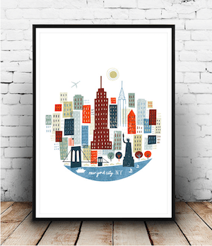 Michael Mullan New York print 300