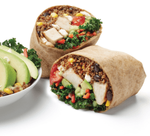 California Tortilla Super Food Burrito 2
