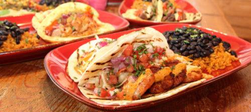 Fish Taco platter