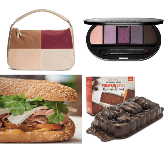 Goods from H&M, Sephora, Taylor Gourmet and Sur La Table