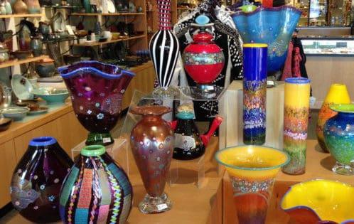 Vases at Appalachian Spring