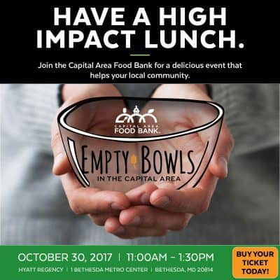 Capital Area Food Bank Empty Bowls Event: https://www.capitalareafoodbank.org