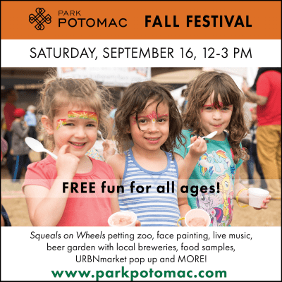 Park Potomac Fall Festival: https://www.facebook.com/events/193056877899309/