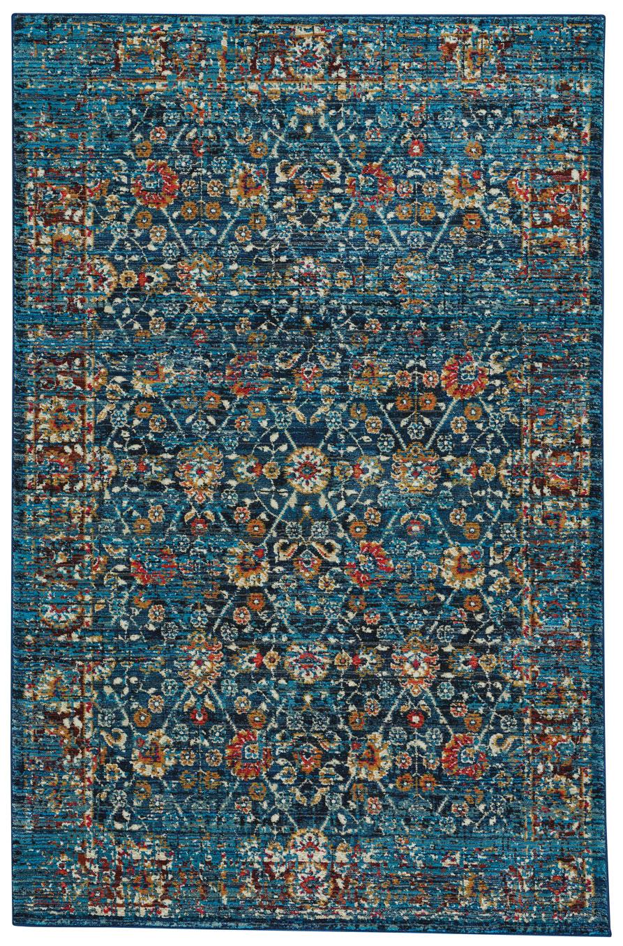capel banaz 3822 475 kayseri midnight blue area rug rugs a bound