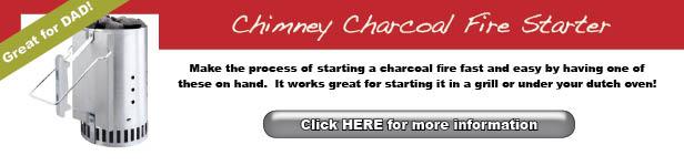 dad-chimney charcoal starter