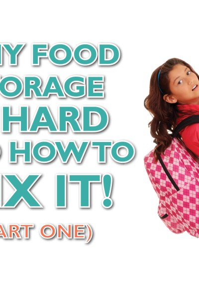 Why Food Storage is Hard and How to Fix It: Part 1