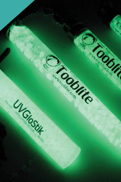 UV Paqlite Rechargeable Glow Sticks