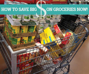 Save BIG on Grocery Stock-up Sales Going on Now!
