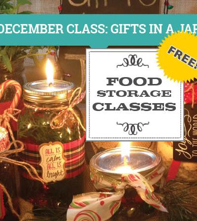 Gifts in a Jar Class