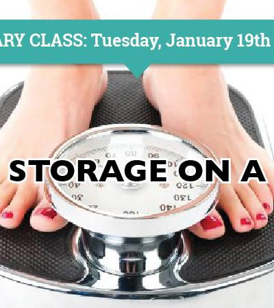 Food Storage on a Diet!