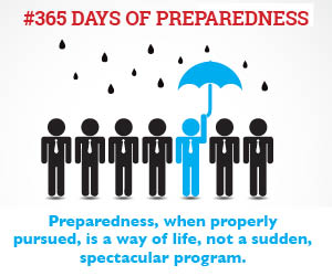 #365 days of preparedness