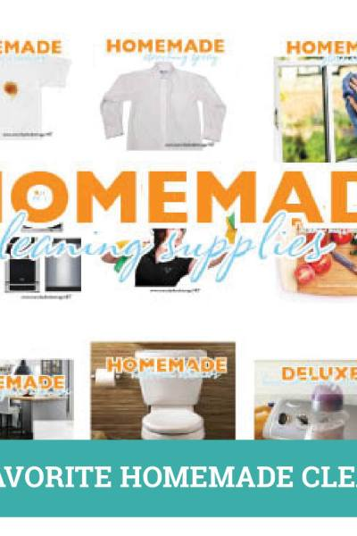 Our Favorite Homemade Cleaners