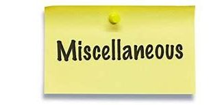 Miscellanous