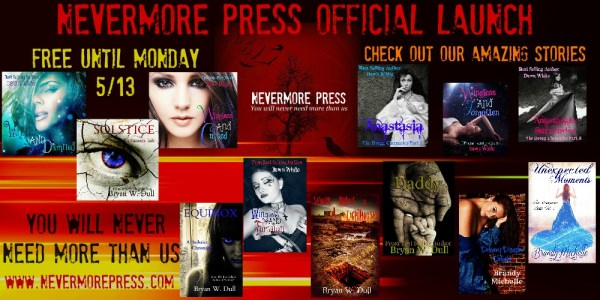nevermore press launch banner