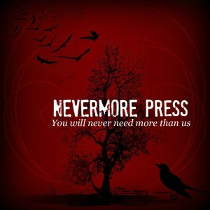 nevermore LOGO with tagline