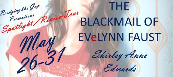 Blackmail of Evelyn Faust banner