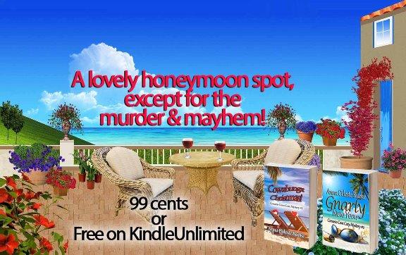 2 books lovely honeymoon spot