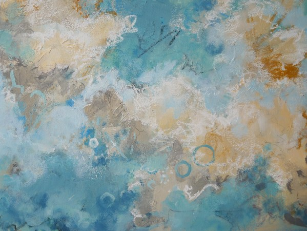 Cyrus contemporary abstract painting