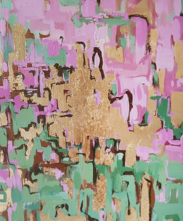 Lanah modern abstract painting