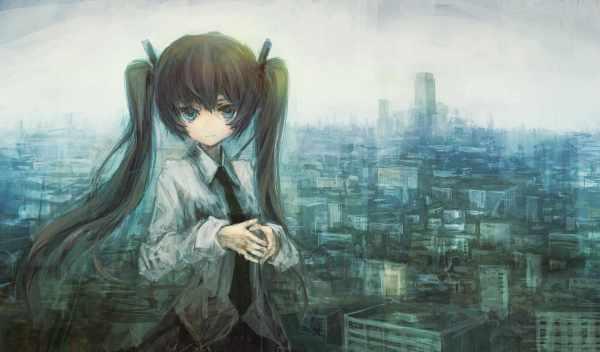 Обои аниме девушка с хвостиками , раздел Аниме, размер ...