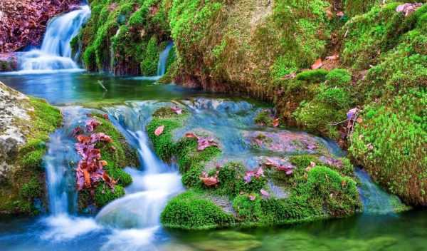 Обои водопад, природа, фотообои, раздел Природа, размер ...