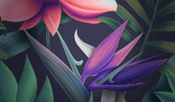 Обои цветы, mate, ретро, раздел Фантастика, размер ...