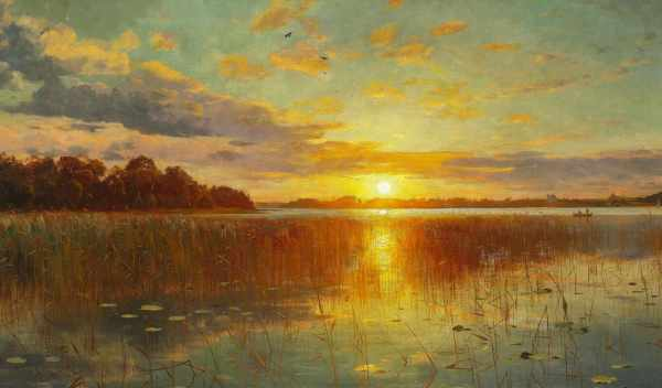 Обои картинка, sun, landscape, раздел Природа, размер ...