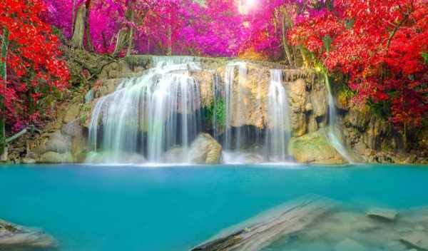Обои водопад, фотообои, водопады Фон № 147738 , раздел ...
