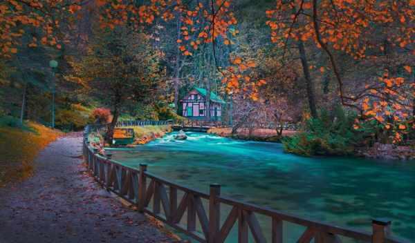 Обои босния, осень, река, раздел Песочница, размер ...