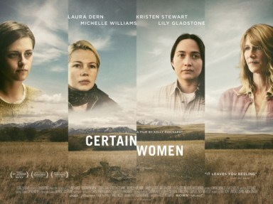 CERTAIN WOMEN...https://storgy.com/2017/03/23/film-review-certain-women/
