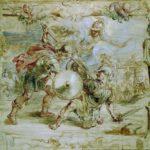 Ettore durante la lotta contro Achille, Pieter Paul Rubens, datato prima metà del XVII secolo, Museo Boymans-van Beuningen, Rotterdam