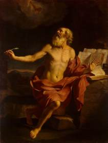 "Guercino, ""St. Jerome in the Wilderness""."
