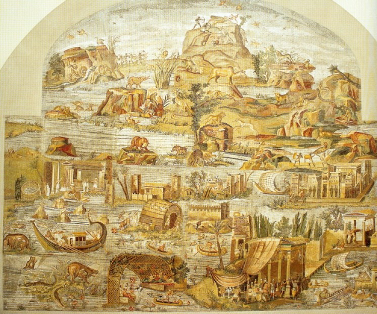 mosaico nilo