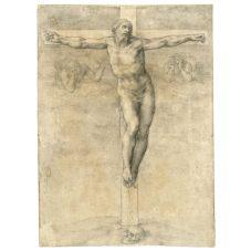Michelangelo Buonarroti, Cristo in croce, c. 1540, Londra, British Museum
