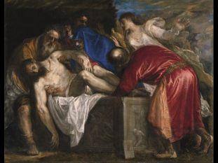 Tiziano Vecellio, Deposizione di Cristo nel sepolcro, 1559, Madrid, Museo Nacional del Prado