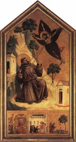 Giotto, Stimmate di san Francesco