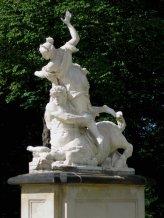 Antonio Corradini, Eurito e Ippodamia, particolare. Dresda, Große Garten.