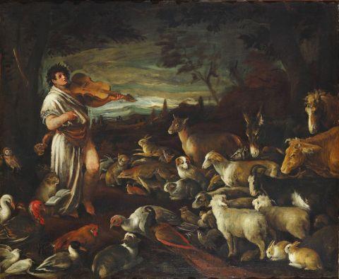 Jacopo Bassano, Orfeo
