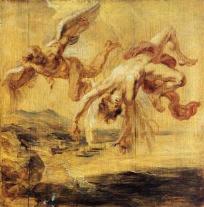 Peter Paul Rubens, The Fall of Icarus, 1636, Brussels, Musées Royaux des Beaux-Arts (inv. n. 4127)